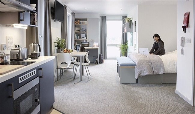 ... Uber Chic Shared Space; Providing A Safe Haven For Creativity, Academic  Excellence And Independent Student Living, Located In The Heart Of  Nottinghamu0027s ...