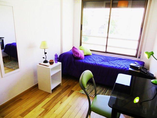 Habitacion en alquiler en Buenos Aires - Habitación individual con aire acondicionado- departamento nuevo | CompartoDepto - Image 1