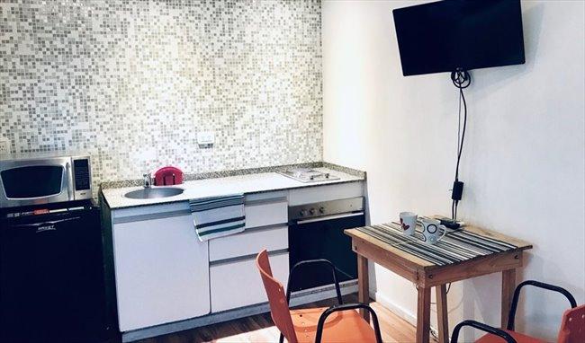 Habitaciones en alquiler - Buenos Aires - HERMOSO STUDIO MONOAMBIENTE A ESTRENAR! | CompartoDepto - Image 4