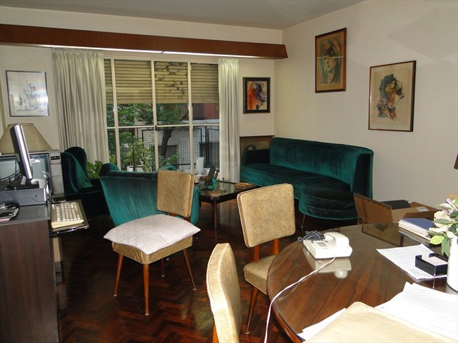 Prolijo y amplio cuarto en un departamento Almagro - Almagro - Image 6