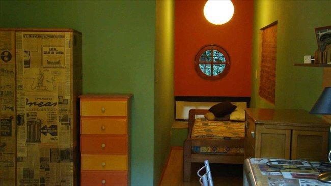 Habitaciones en alquiler - Capital Federal - Hermosa y gran habitacion naranja en plaza almagro | CompartoDepto - Image 4