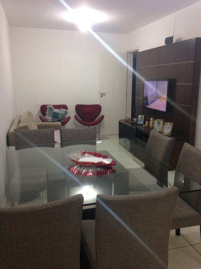 Aluguel kitnet e Quarto em Belo Horizonte - QUARTO sem armário - Ambiente familiar | EasyQuarto - Image 1