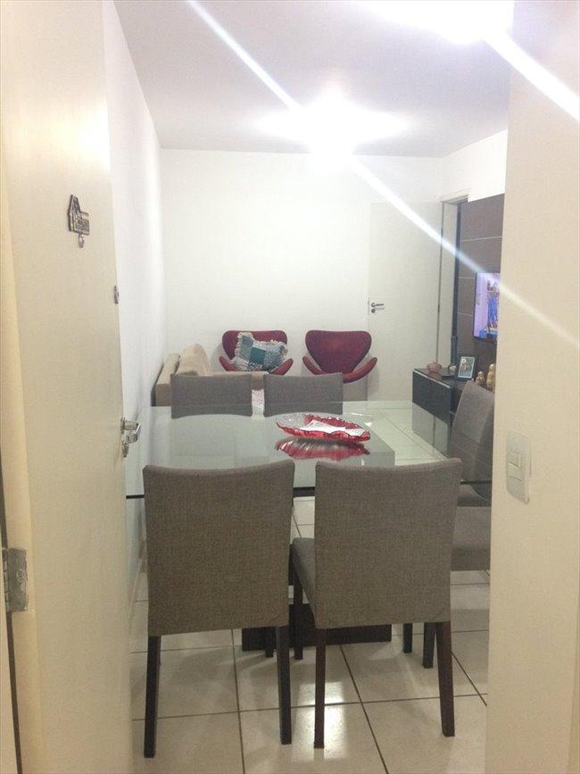 Aluguel kitnet e Quarto em Belo Horizonte - QUARTO sem armário - Ambiente familiar | EasyQuarto - Image 2
