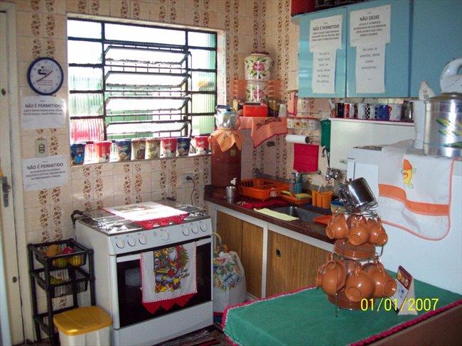 Vaga, Quarto, disponivel em pensão familiar - Jabaquara - Image 2