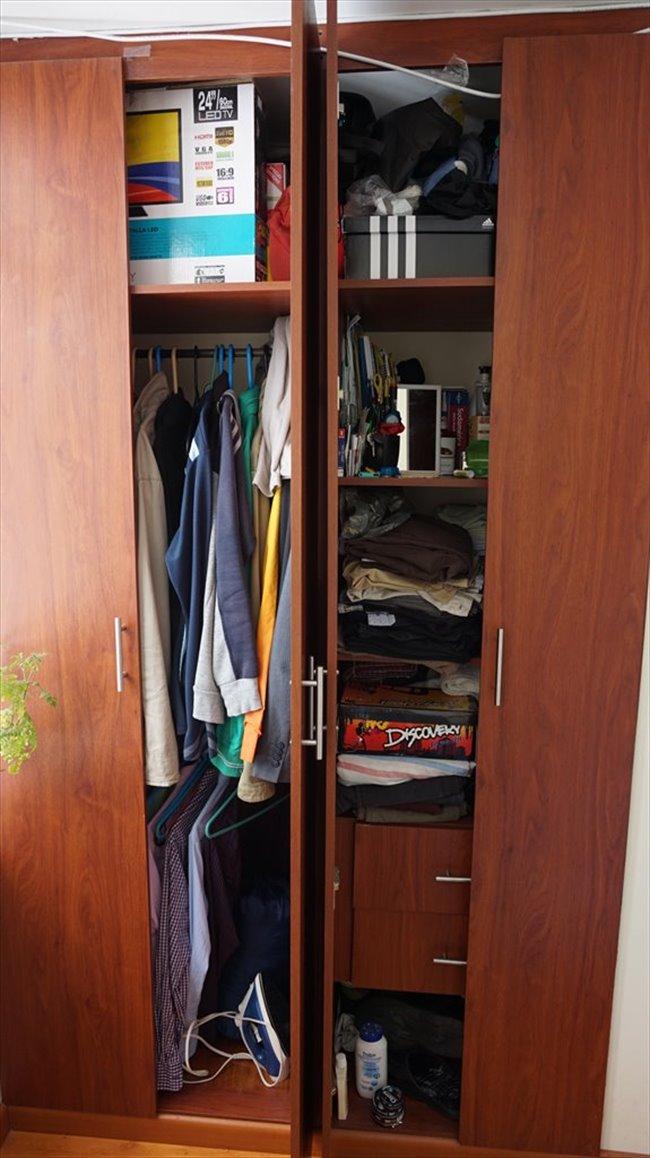 Habitacion en arriendo en Bogotá - Vive independiente compartiendo apto. Hab individual baño compartido.   CompartoApto - Image 2