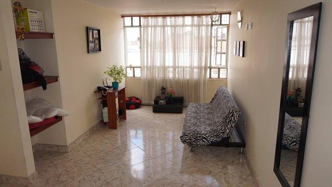 Habitacion en arriendo en Bogotá - Vive independiente compartiendo apto. Hab individual baño compartido.   CompartoApto - Image 6