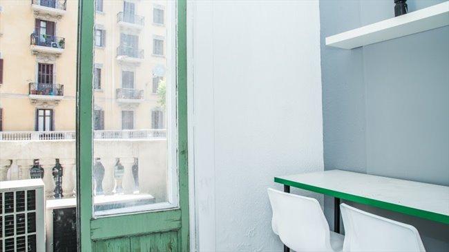Piso Compartido en Barcelona - Habitación con cama DOBLE y BALCON en VIA LAIETANA!!!!! | EasyPiso - Image 3