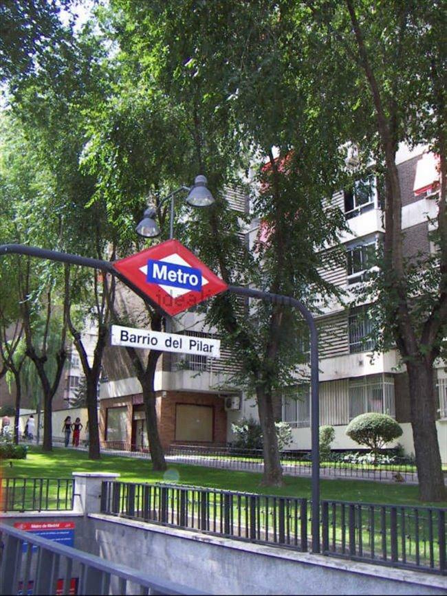 Piso Compartido en Tetuán - habitacion grande luminosa solo chica estudiante--cerca UNIVERCIDADES-MADRID   EasyPiso - Image 8