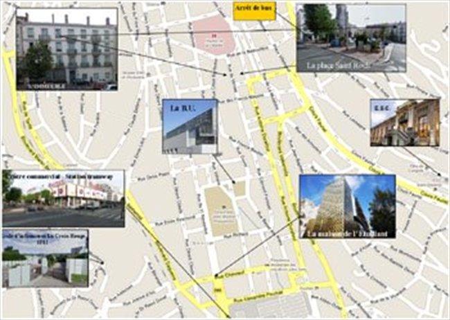 Colocation - Saint-Etienne - Coloc bail individuel, proximité Université,  EM Lyon, ENMSE | Appartager - Image 8