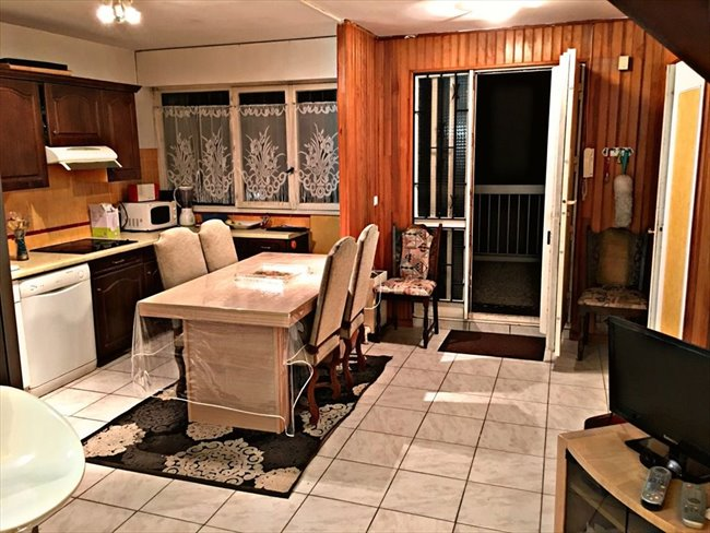 colocation paris ile de france urgent 4 chambres libres colocation dans duplex appartager. Black Bedroom Furniture Sets. Home Design Ideas