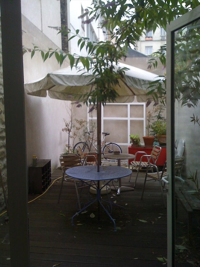Colocation 19 me arrondissement loft grande chambre terrasse privative - Colocation loft paris ...