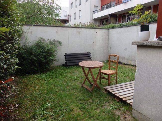 Colocation la plaine saint denis maison avec jardin rer b la plaine stade de france - Maison jardin toulouse location saint denis ...