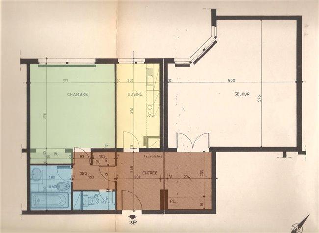Colocation courbevoie appart meubl 75m2 dispo janv for Location appart meuble paris