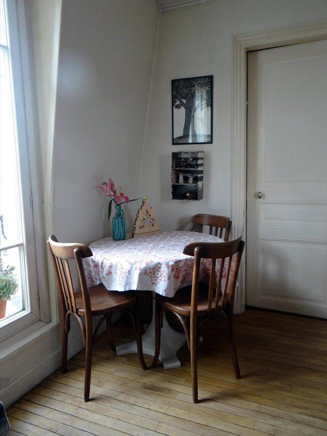Colocation 2 me arrondissement chambre louer dans for Chambre a louer paris etudiant