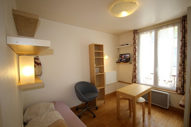 colocation 15 me arrondissement rue du commerce paris 15 beau studio meubl appartager. Black Bedroom Furniture Sets. Home Design Ideas