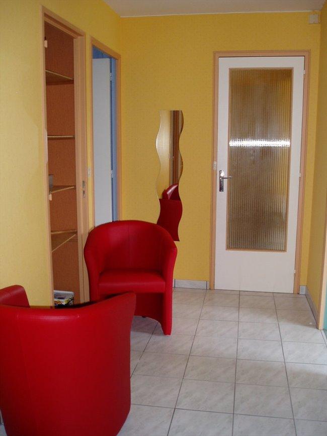 chambre meublée dans appartement en colocation - Centre, Rennes - Image 1
