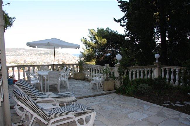 Petit studio vue mer calme absolu petite terrasse jardin collines ni oises nice - Petit jardin public nice ...