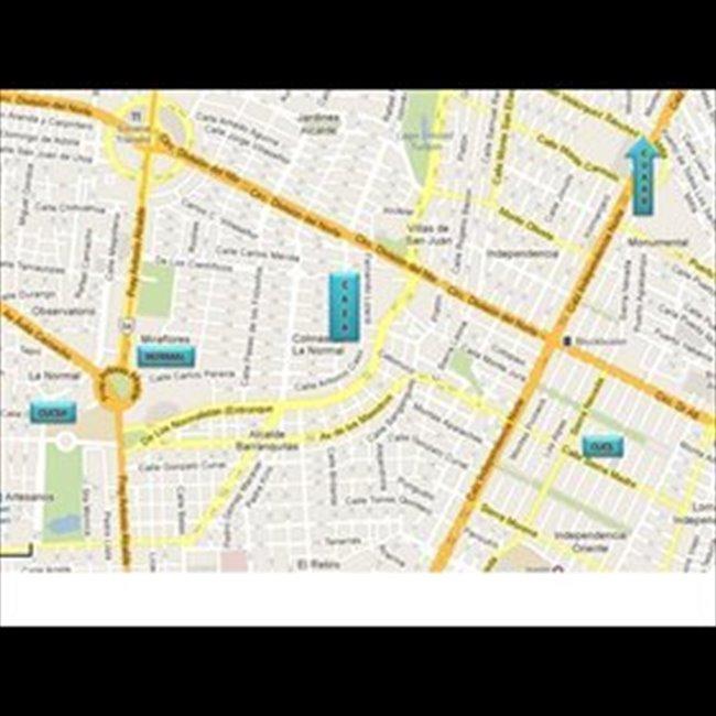 Cuarto en renta en Guadalajara - Habitación para mujeres en LA NORMAL   CompartoDepa - Image 5