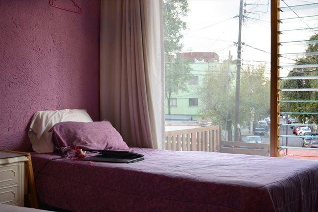 Cuarto en renta en Coyoacán - HABITACION EN  AMBIENTE LIMPIO SEGURO TRANQUILO, | CompartoDepa - Image 1