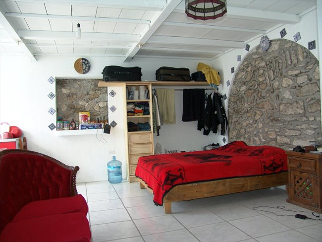 Cuartos en Renta - Puebla - Habitacion tipo Mini Depa ...