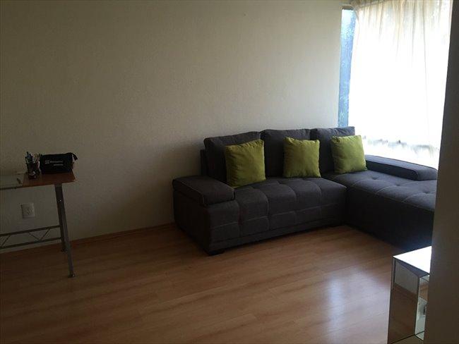 Cuartos en renta df rento bonita habitacion de for Alquiler habitacion departamento