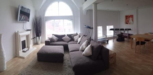 Room to rent in Wolverhampton - Double ROOM IN BEAUTIFUL City Centre PENTHOUSE  near Train & Bus - Image 1
