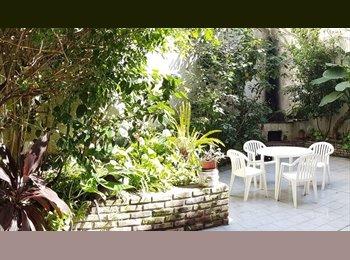 CompartoDepto AR - Habitación amplio departamento c/ Jardin Alt. Pale - Palermo, Capital Federal - AR$ 5.000 por mes
