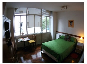 CompartoDepto AR - SINGLE ROOM WITH DOUBLEBED IN SHARED AP BEST LOCATION, Capital Federal - AR$ 7.400 por mes