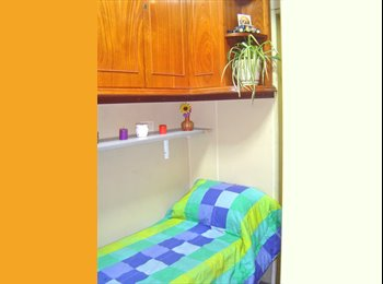 Alquilo Habitacón con Baño Priv, Lavarropas,aireac