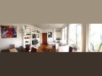 Amplia y cómoda habitación en hermoso depto.