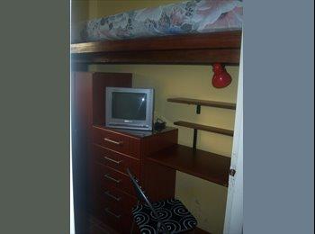 Habitacion individual varones t/confort amobladas d/$ 2000