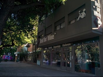 CompartoDepto AR - Bed for Wine Hostel. Dormitorios con Baño Privado, Aire Acondicionado/Calefacción, Bar comunitario,  - Mendoza Capital, Mendoza Capital - AR$ 1.700 por mes