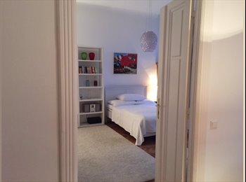 EasyWG AT - Zimmer mit eigenem Bad in 138qm Altbauwohnung ab 01.12.2015  - Wien  3. Bezirk (Landstraße), Wien - 590 € pm