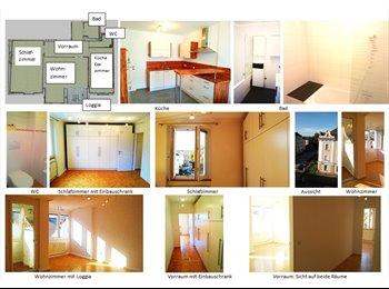Sonniges WG-Zimmer (24 m²) mit Loggia