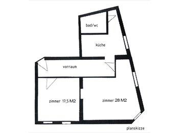 EasyWG AT - 28m² voll Möbliert - Innenstadt, Graz - 450 € pm