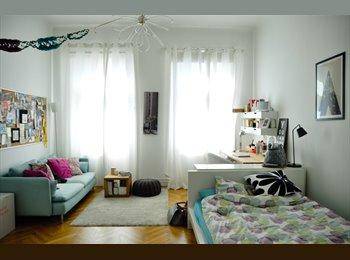 EasyWG AT - schönes, helles 25qm Zimmer in 2er WG zu vermieten - Wien  8. Bezirk (Josefstadt), Wien - 466 € pm