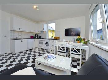 EasyWG AT - Sehr grosses, sonniges Zimmer mit eigener Dusche/WC (24m2) in wunderschoen renovierter, grundsaniert, Krems an der Donau - 450 € pm