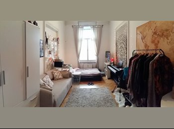 Sunny room in a shared flat
