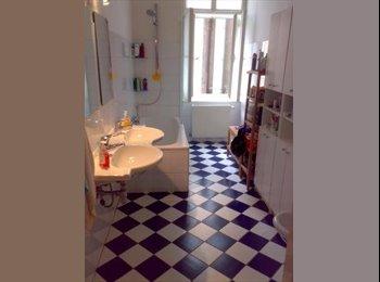 EasyWG AT - 30m² Altbau-Zimmer in netter 4er-WG mit Blick auf JTP, Wien - 480 € pm
