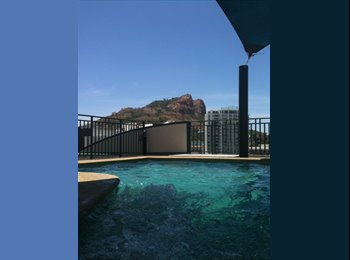 EasyRoommate AU - OWN BATHROOM, OWN BALCONY, POOL, GYM, IN CITY - Townsville, Townsville - $195 pw
