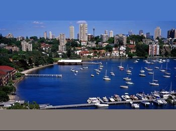 EasyRoommate AU - Harbourside Double Bay Rm for Busy Professional - Double Bay, Sydney - $310 pw