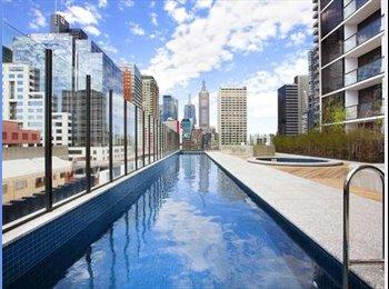 Stylish New Melbourne CBD Apartment with Gym&Pool