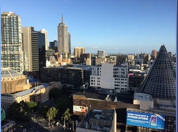 EasyRoommate AU - Perfect Location with Amazing City View! - Melbourne, Melbourne - $280 pw