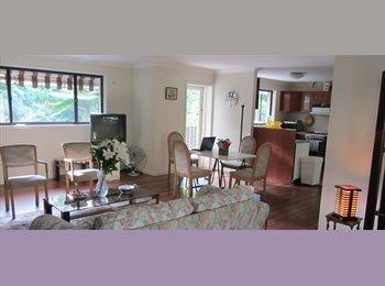 EasyRoommate AU - Amazing SPACIOUS bedroom in a 2-bedroom flat, leaf - Wahroonga, Sydney - $210 pw