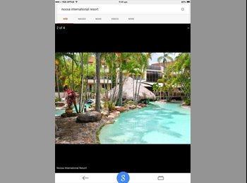 EasyRoommate AU - Beautiful Share Accom In Central Noosa Resort - Noosa Heads, Sunshine Coast - $250 pw