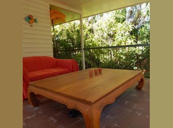 Welcoming room available in bright and airy Queenslander in...