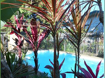 2 Rooms in Friendly & spacious home in Earlville with pool...