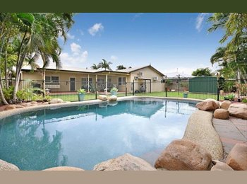 EasyRoommate AU - Room to Rent in Large 4 Bedroom House in Annandale - Annandale, Townsville - $175 pw