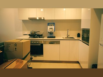 EasyRoommate AU - City and river 5th floor View apartment - Hamilton, Brisbane - $225 pw
