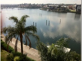Water view double storey apartment on the marina
